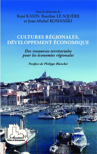 Couverture Cultures régionales, développement économique