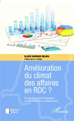 Couverture Amélioration du climat des affaires en RDC ?