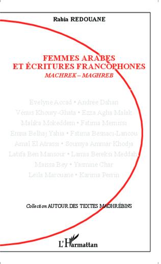 Couverture Femmes arabes et écritures francophones
