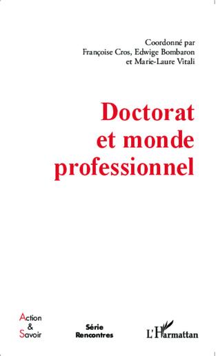 Couverture Doctorat et monde professionnel