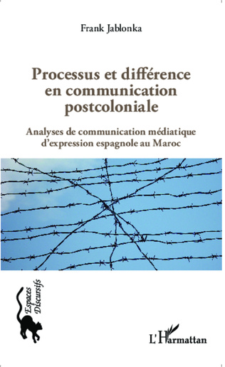 Couverture Processus et différence en communication postcoloniale