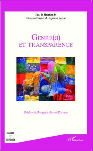 Couverture Genre(s) et transparence
