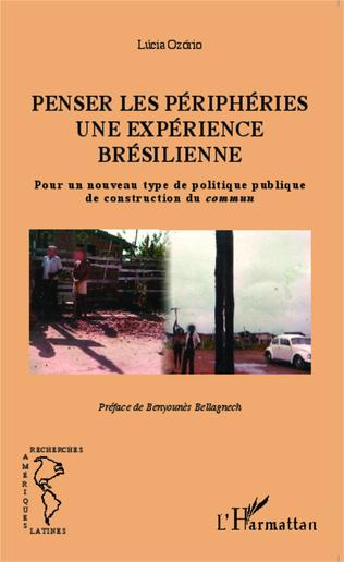 Couverture Penser les périphéries une expérience brésilienne