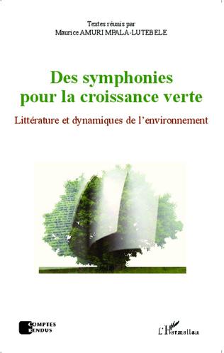 Couverture Des symphonies pour la croissance verte