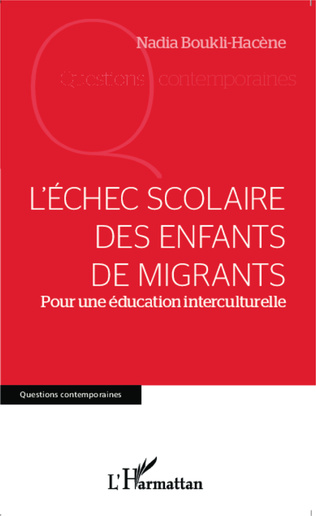 Couverture L'échec scolaire des enfants de migrants