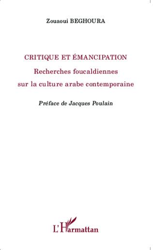 Couverture Critique et émancipation