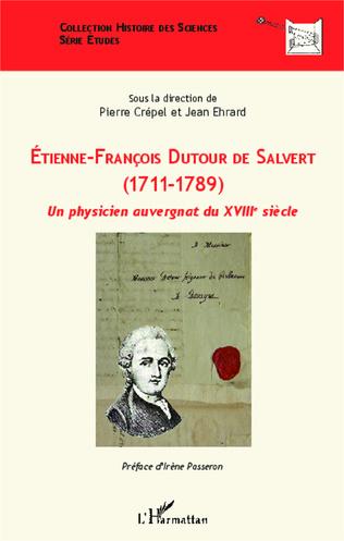 Couverture Etienne-François Dutour de Salvert (1711-1789)