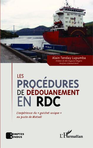Couverture Les procédures de dédouanement en RDC
