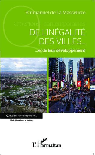 Couverture De l'inégalité des villes...