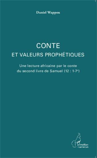 Couverture Conte et valeurs prophétiques