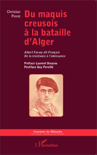 Couverture Du maquis creusois à la bataille d'Alger