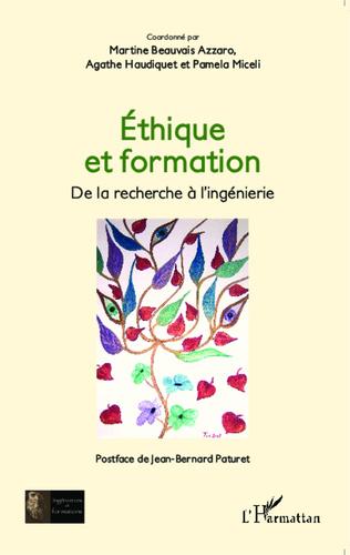 Couverture Éthique et formation