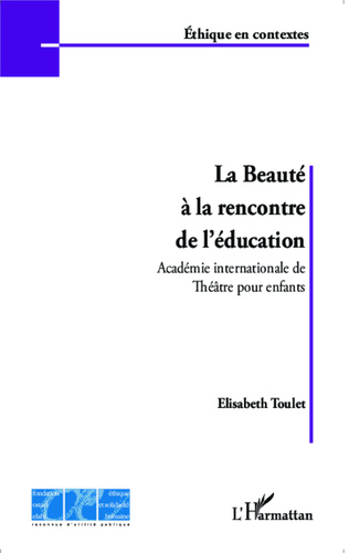 Couverture La beauté à la rencontre de l'éducation