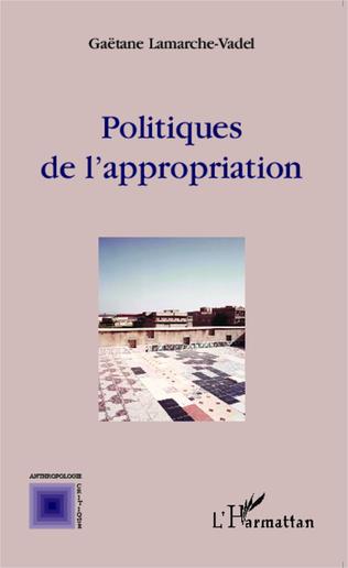 Couverture Politiques de l'appropriation