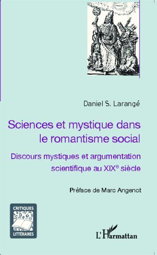 Couverture Sciences et mystique dans le romantisme social