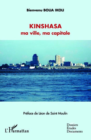 Couverture Kinshasa ma ville, ma capitale