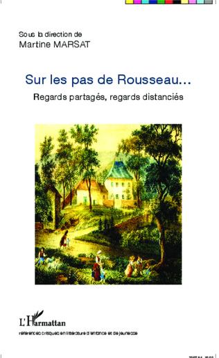 Couverture Sur les pas de Rousseau...