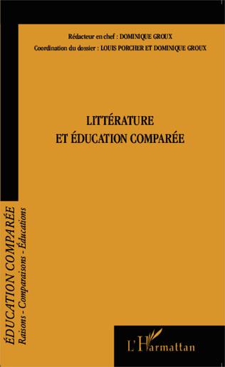 Couverture Littérature et éducation comparée