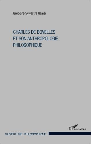 Couverture Charles De Bovelles et son anthropologie philosophique
