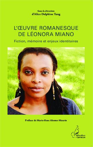 Couverture L'oeuvre romanesque de Léonora Miano