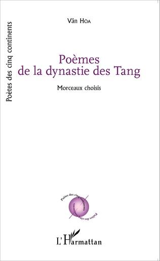 Couverture Poèmes de la dynastie des Tang