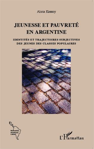 Couverture Jeunesse et pauvreté en Argentine