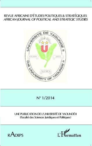 Couverture Revue Africaine d'Etudes Politiques & Stratégiques RADEPS