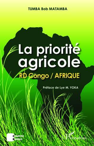Couverture La priorité agricole RD Congo / Afrique