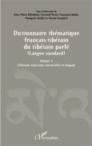 Couverture Dictionnaire thématique français-tibétain du tibétain parlé (Langue standard)
