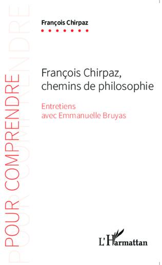 Couverture François Chirpaz chemins de philosophie