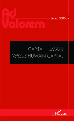 Couverture Capital humain versus humain capital