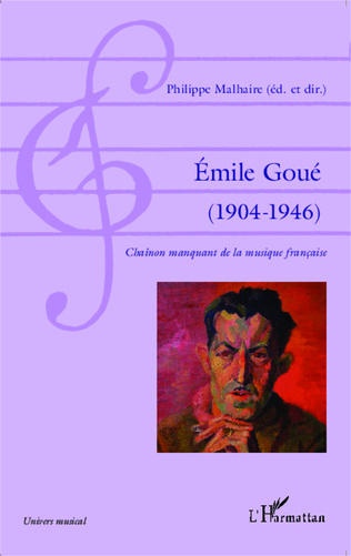 Couverture Émile Goué ( 1904-1946)