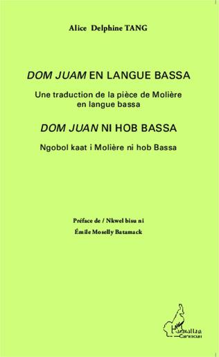 Couverture <em>Dom Juan</em> en langue bassa