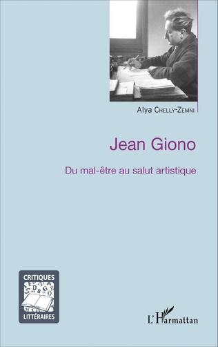 Couverture Jean Giono