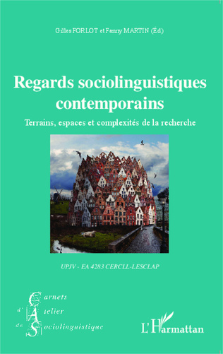 Couverture Regards sociolinguistiques contemporains