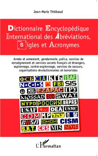Couverture Dictionnaire encyclopédique international des abréviations, sigles et acronymes