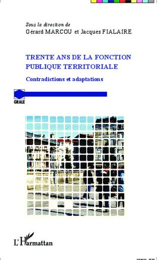 Couverture Trente ans de la fonction publique territoriale