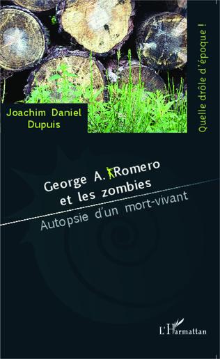 Couverture George A. Romero et les zombies