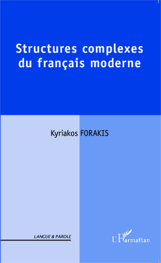 Couverture Structures complexes du français moderne