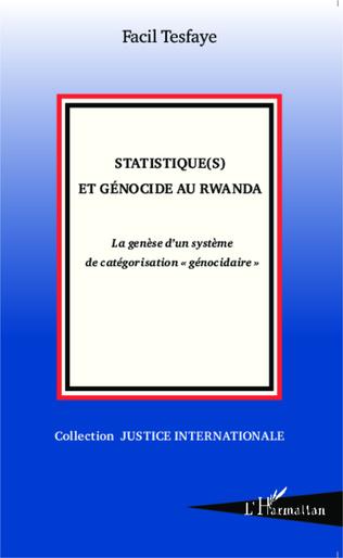Couverture Statistique(s) et génocide au Rwanda