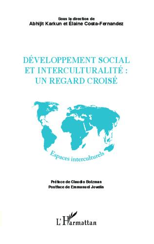 Couverture Développement social et interculturalité : un regard croisé