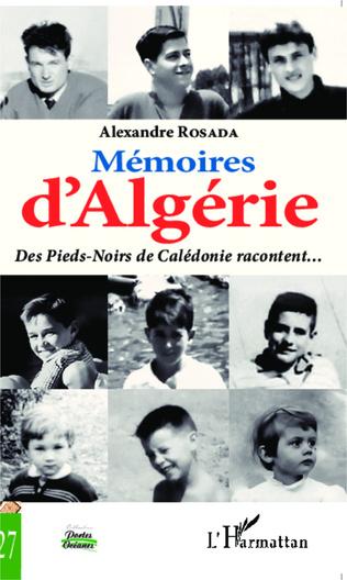 Couverture Mémoires d'Algérie