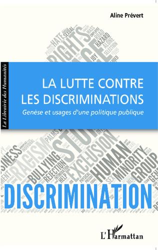Couverture La lutte contre les discriminations