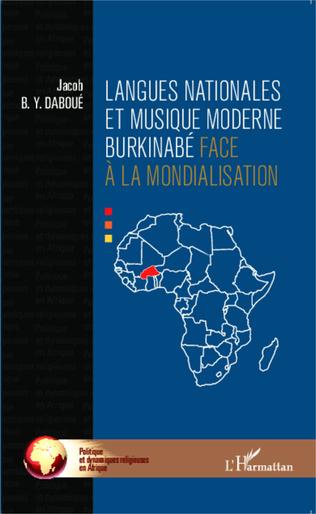 Couverture Langues nationales et musique moderne burkinabé face à la mondialisation