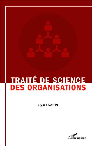 Couverture Traité de science des organisations