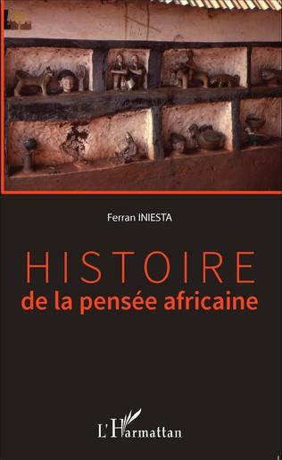 Couverture Histoire de la pensée africaine