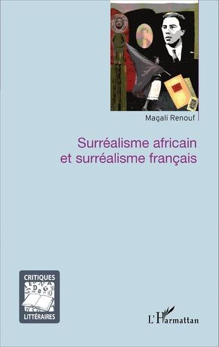 Couverture Surréalisme africain et surréalisme français