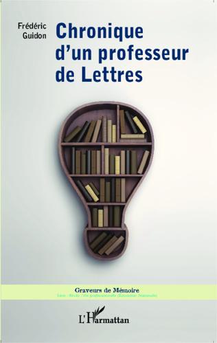 Couverture Chronique d'un professeur de lettres