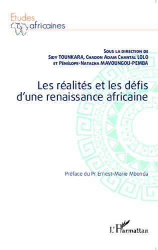 Couverture Les réalités et les défis d'une renaissance africaine