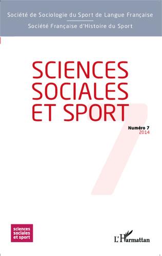 Couverture Sciences Sociales et Sport n° 7